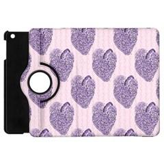 Vintage Heart Apple iPad Mini Flip 360 Case