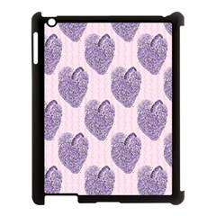 Vintage Heart Apple iPad 3/4 Case (Black)