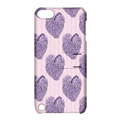 Vintage Heart Apple iPod Touch 5 Hardshell Case with Stand
