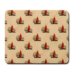 Vintage Kitty Large Mouse Pad (Rectangle)