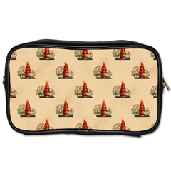 Vintage Kitty Travel Toiletry Bag (Two Sides)
