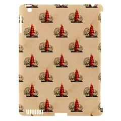 Vintage Kitty Apple iPad 3/4 Hardshell Case (Compatible with Smart Cover)