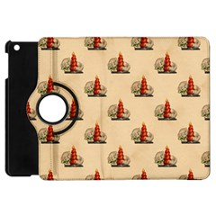 Vintage Kitty Apple iPad Mini Flip 360 Case