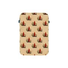 Vintage Kitty Apple iPad Mini Protective Soft Case