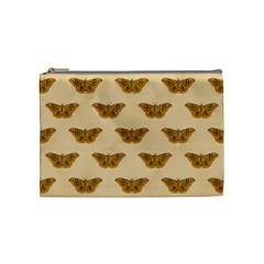 Vintage Moth Cosmetic Bag (Medium)