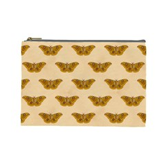 Vintage Moth Cosmetic Bag (Large)