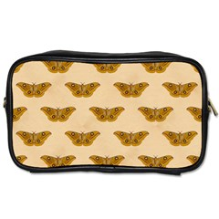 Vintage Moth Travel Toiletry Bag (Two Sides)