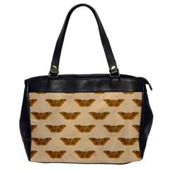 Vintage Moth Oversize Office Handbag (One Side)