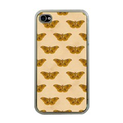Vintage Moth Apple iPhone 4 Case (Clear)