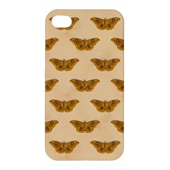 Vintage Moth Apple iPhone 4/4S Premium Hardshell Case