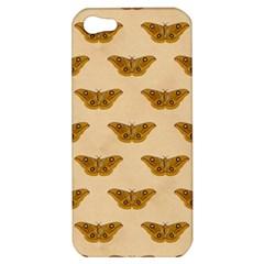 Vintage Moth Apple iPhone 5 Hardshell Case