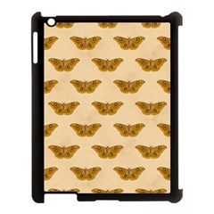Vintage Moth Apple iPad 3/4 Case (Black)