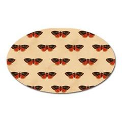 Vintage Moth Magnet (Oval)
