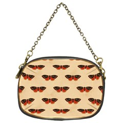 Vintage Moth Chain Purse (One Side)