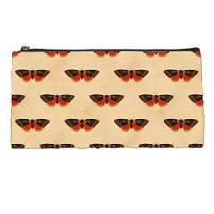 Vintage Moth Pencil Case