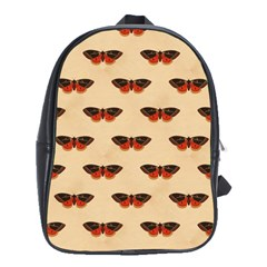 Vintage Moth School Bag (Large)