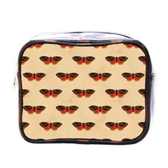 Vintage Moth Mini Travel Toiletry Bag (One Side)