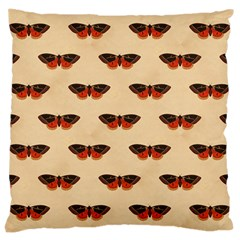 Vintage Moth Large Cushion Case (One Side)
