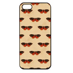 Vintage Moth Apple iPhone 5 Seamless Case (Black)