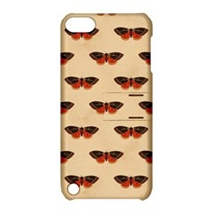 Vintage Moth Apple iPod Touch 5 Hardshell Case with Stand