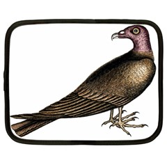 Vintage Vulture Netbook Case (Large)