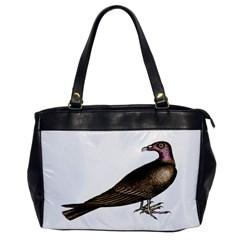 Vintage Vulture Oversize Office Handbag (One Side)