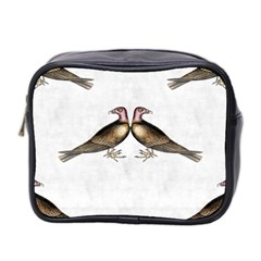 Vintage Vulture Mini Travel Toiletry Bag (Two Sides)