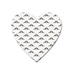 Vintage Vulture Magnet (Heart)
