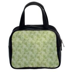 Vintage Wallpaper Classic Handbag (Two Sides)