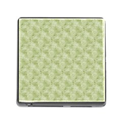 Vintage Wallpaper Memory Card Reader with Storage (Square)