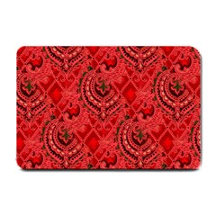 Vintage Wallpaper Small Door Mat