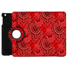 Vintage Wallpaper Apple iPad Mini Flip 360 Case
