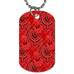 Vintage Wallpaper Dog Tag (One Sided)