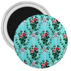 Vintage Wallpaper 3  Button Magnet