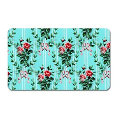 Vintage Wallpaper Magnet (Rectangular)