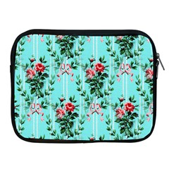 Vintage Wallpaper Apple iPad 2/3/4 Zipper Case