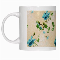 Vintage Wallpaper White Coffee Mug