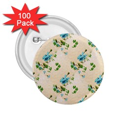 Vintage Wallpaper 2.25  Button (100 pack)