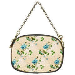 Vintage Wallpaper Chain Purse (Two Side)