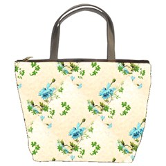 Vintage Wallpaper Bucket Bag