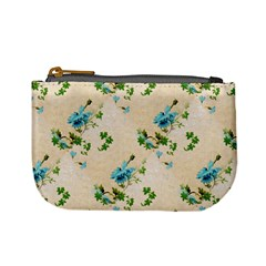 Vintage Wallpaper Coin Change Purse