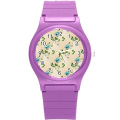 Vintage Wallpaper Plastic Sport Watch (Small)