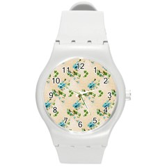 Vintage Wallpaper Plastic Sport Watch (Medium)