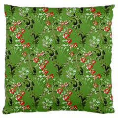 Vintage Wallpaper Large Cushion Case (One Side)