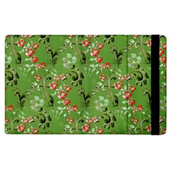 Vintage Wallpaper Apple iPad 2 Flip Case