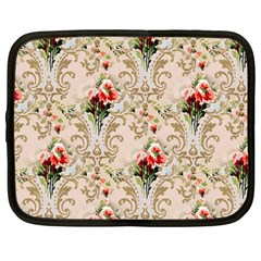 Vintage Wallpaper Netbook Case (Large)