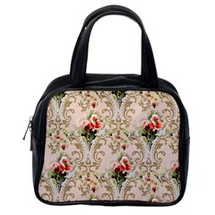 Vintage Wallpaper Classic Handbag (One Side)