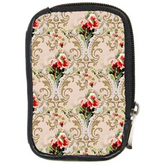 Vintage Wallpaper Compact Camera Leather Case