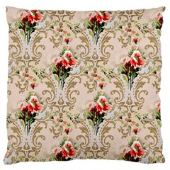 Vintage Wallpaper Large Cushion Case (Two Sides)
