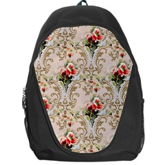 Vintage Wallpaper Backpack Bag